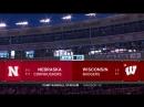 NCAAF 2018 / Week 06 / Nebraska Cornhuskers - 16 Wisconsin Badgers / 1Н / EN