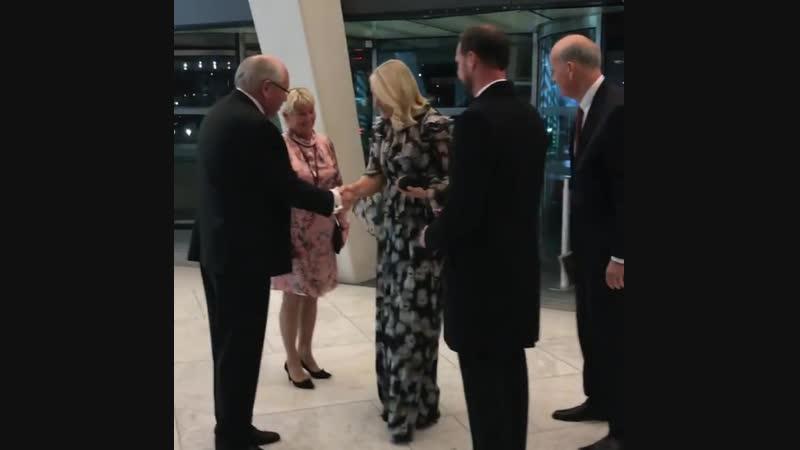 Наследная пара прибыла на церемонию награждения Премии Северного Совета – 2018