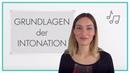 Grundlagen der Intonation im Deutschen