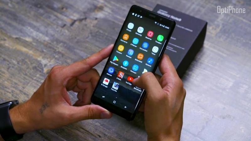 Самая точная Копия Samsung Galaxy Note 9 обзор