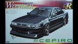 Обзор Nissan Wonder A31 Cefiro Aoshima 124 (сборные модели)