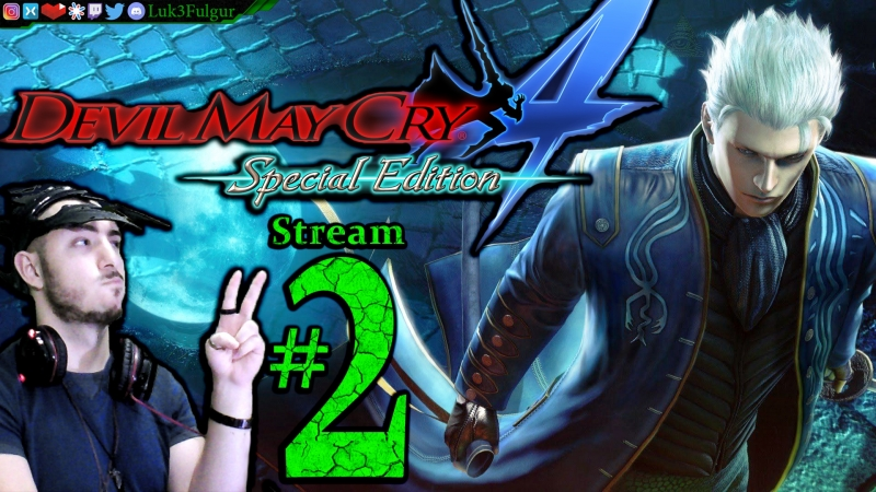 Devil May Cry 4 HD 👺🎭PRO⚔️🌹All DLC💸PC💻Max Gfx✨2nd Stream🎋