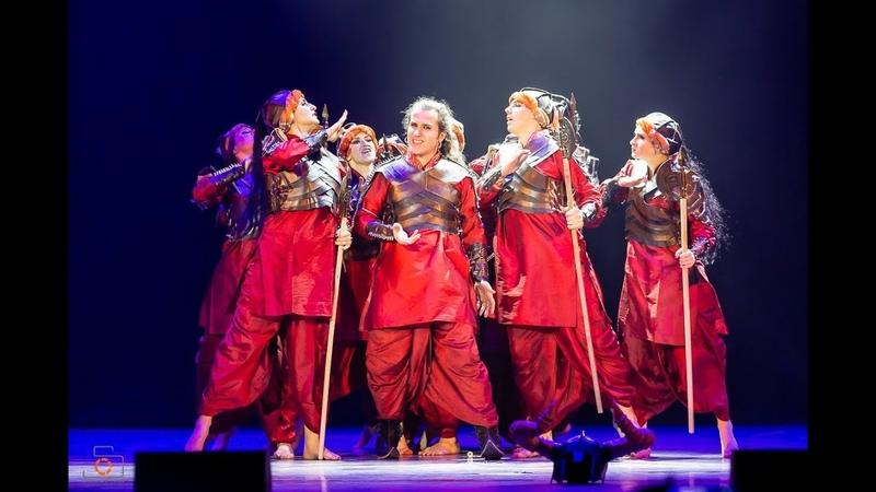 Khalibali Padmaavat Amrita dance group Moscow