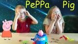 Игра СВИНКА ПЕППА ИЗ БОЧКИ. Веселая игра PEPPA PIG and Barrel (2019)