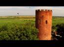 Kamenets Tower and swifts. Каменецкая башня и стрижи.