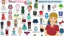Clothes Vocabulary in English Clothes and Accessories Clothes for Kids