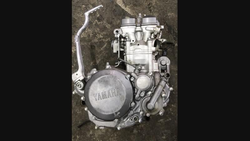 Проверка контрактного двигателя Yamaha WR250 (G348E) перед отправкой клиенту | motod.ru