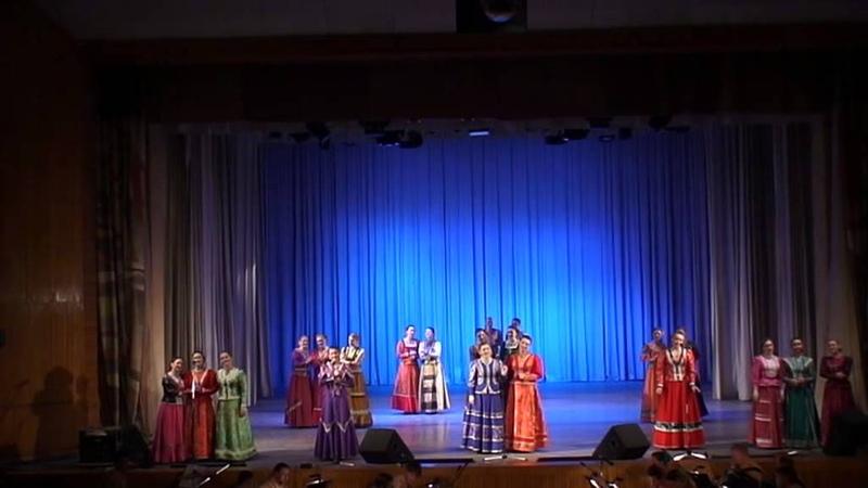 Уральский народный хор.Гармонь.(Ю.Воронищев,сл. Н. Корчугановой.)