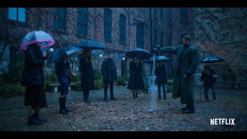 Фичуретка к фантастическому сериалу про супергероев « Академия Амбрелла / The Umbrella Academy, 2019» КТО ОНИ?