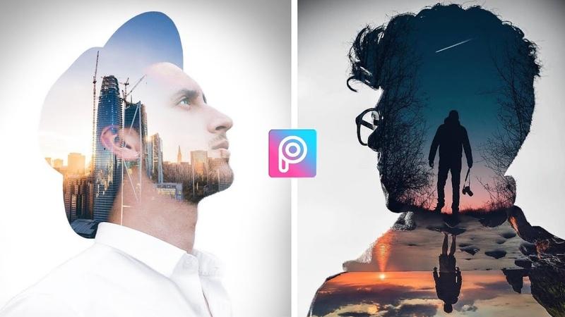 Double Exposure Effect |Picsart Editing Tutorial | Double Exposure picsart