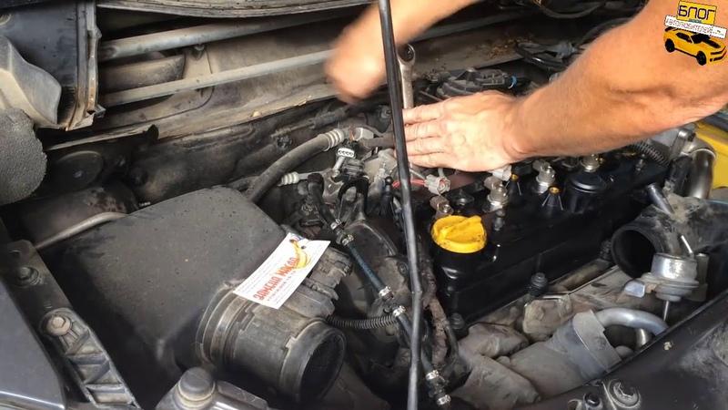 Меняем клапанную крышку Opel Zafira B. Опель Зафира Б 2009 года двигатель A17DTJ