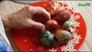 Мраморные яйца в зеленке и не только Секретный ингредиент. Красим яйца на Пасху!!
