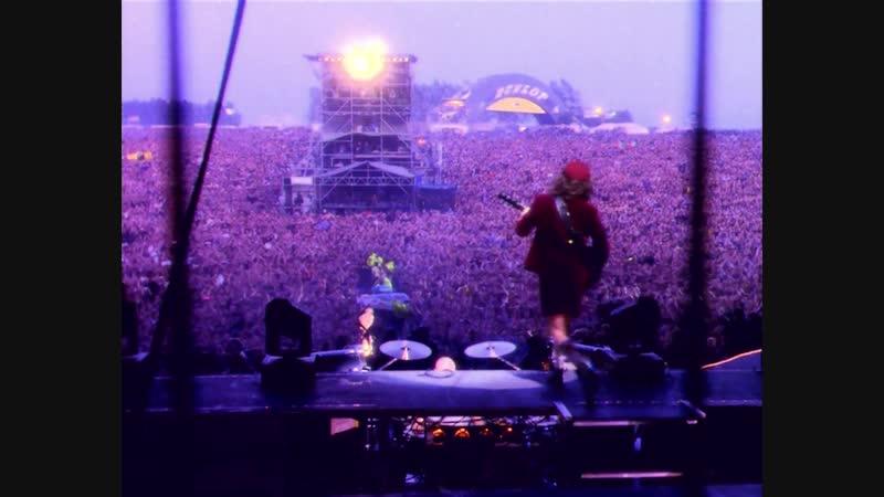 AC/DC - Thunderstruck» (Donington Park, 17.08.1991) [Angus Cam]