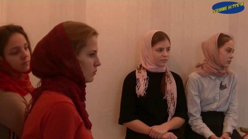 24-25 ноября в Спасо-Преображенском Пронском мужском монастыре прошли курсы сестер милосердия .
