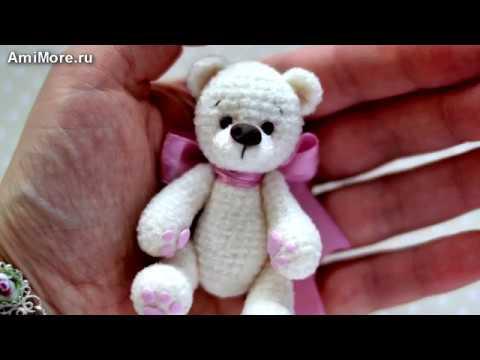 Амигуруми: схема Миниатюрных зверей. Игрушки вязаные крючком - Free crochet patterns.