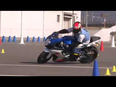 2019 2 17 MSGC Moto Gymkhana Training マサキ 選手 GSX R750