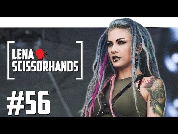 Lena Scissorhands [Infected Rain] о сложностях тура, татуировках и фанатах