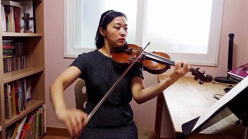 스즈키3권 가보트-베커Suzuki violin 3 Gavotte (J.Becker)바이올린 레슨 강사 김민정 연주