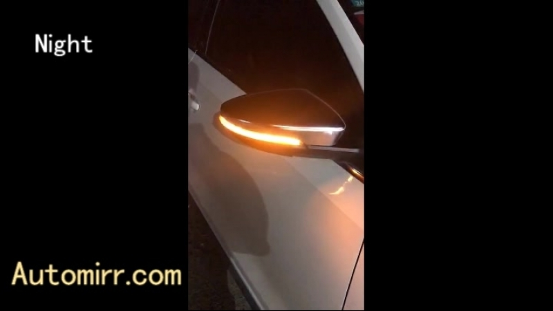 Kibowear for VW Scirocco MK3 Passat B7 Dynamic LED Turn Signal Light Blinker CC EOS Side Mirror Indicator Sequential Scroll