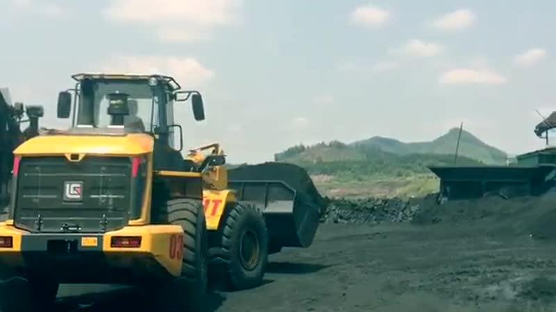 LiuGong CLG 855H на погрузке угля ООО АиСТ