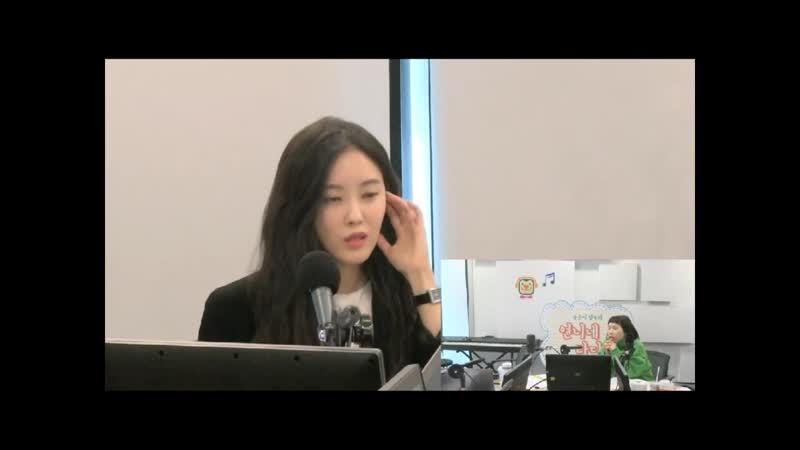 [RADIO] 190123 HYOMIN (효민) T-ARA @ SBS LOVE FM - Song Eun Yi Kim Sook's Unnie's Radio