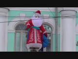 Я увидел Деда Мороза в городе