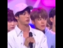 jin and jimins reaction when they saw that they won lmao theyre the living