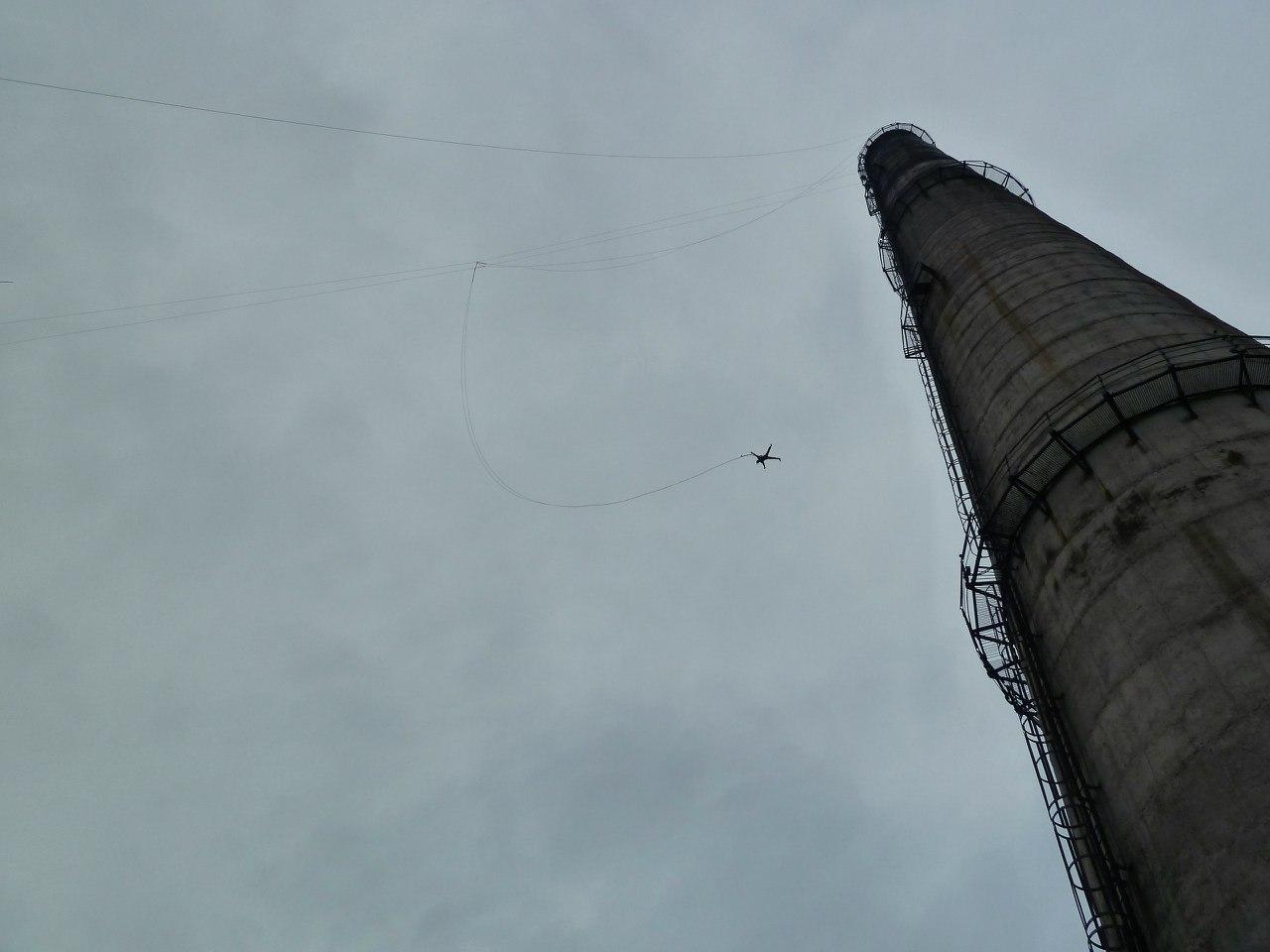 Афиша Хабаровск 100метровые прыжки с веревкой. Этой осенью