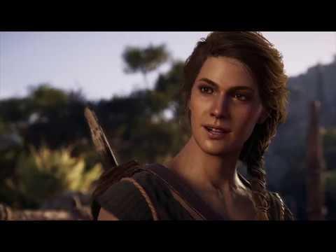 Assassin's Creed Odyssey 4K Gameplay Xbox One X (Kassandra) Opening