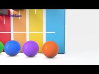 [v-s.mobi]Яйца с сюрпризом и Шарики Учим цвета Учим формы Surprise eggs Развивающий мультик для детей.mp4