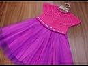 Детское платье крючком.Размер 3-4 года.Часть №1
