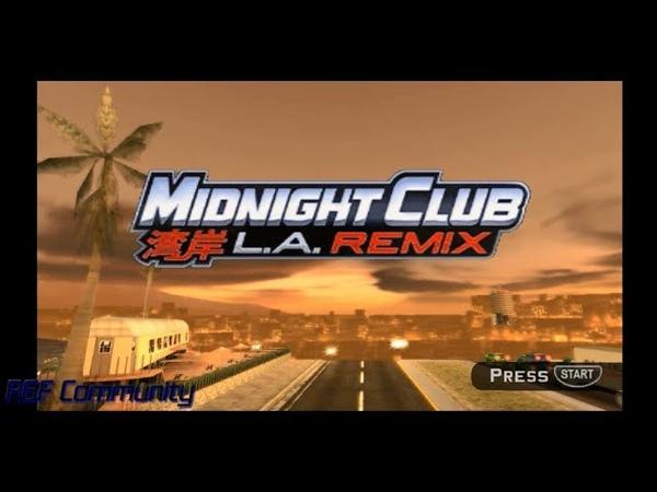 Midnight Club Los Angeles Remix (PSP) Gameplay 4