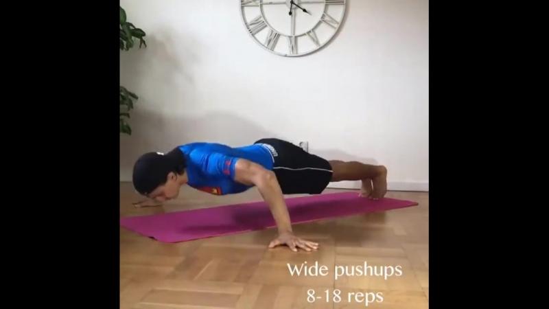 Домашняя тренировка грудных