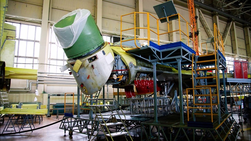 Сборка истребителей Су 35 в цехе секретного завода КнААЗ фоторепортаж