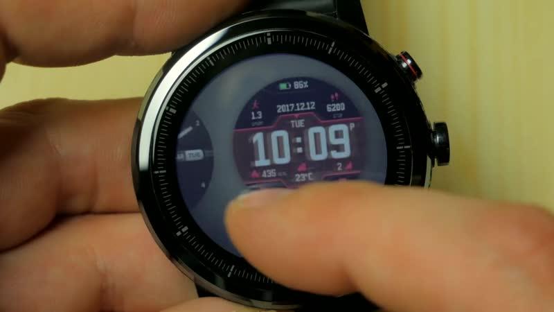 РасПаковка ДваПаковка Amazfit Bip или Stratos Какие смарт часы от Xiaomi лучше Опыт использования