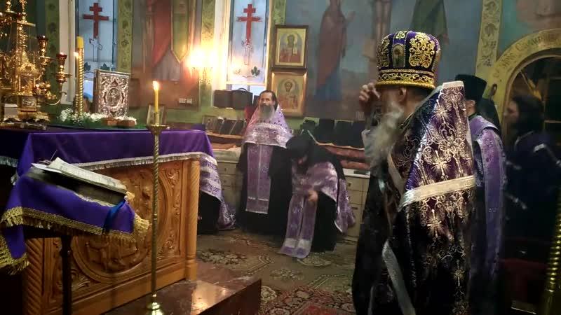 Последнее поклонение Кресту с батюшкой Иоанном 26.09.2017