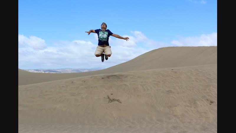 Дюны Маспаломас: пустыня и нудистские пляжи
