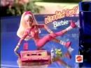 Mattel 1996 Workin out Barbie