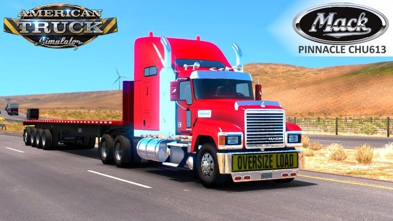 American Truck Simulator MACK PINNACLE CHU613 TRUCK