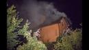 На Нивках пылал частный дом пожарные полчаса искали воду