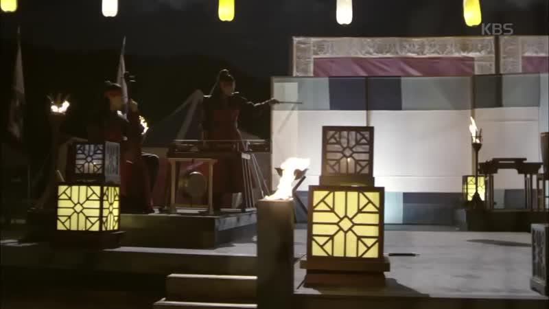 화랑 - 놀라운 대처로 축연 무대를 완성시킨 '신라 엄친아' 화랑. 20170117