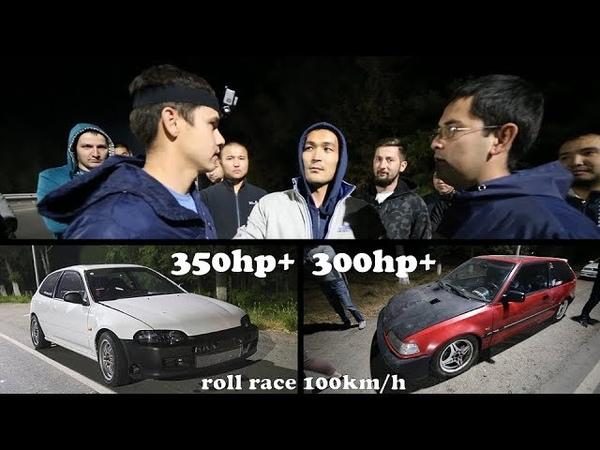 Без Купюр №72 БИТВА ТИТАНЧИКОВ🤜🏽 CIVIC ED K24 Turbo VS Civic EG B18 Turbo