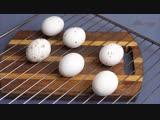 Печёные яйца. Варёные отдыхают! Eggs baked