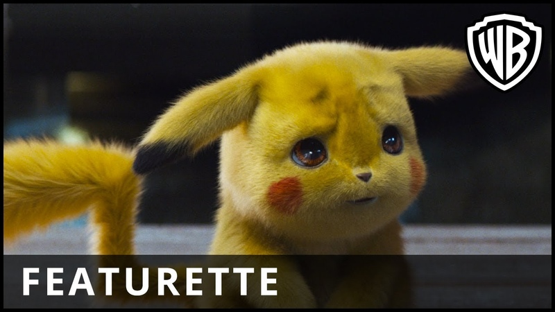POKÉMON Detective Pikachu – Behind the Scenes Featurette - Warner Bros. UK