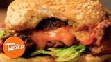 Juicy Lucy Taco Burger Recipe Homemade Cheeseburger Recipe Twisted