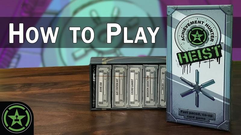 How to Play Achievement Hunter HEIST