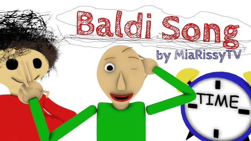 Baldi's Basics Song - Sweet Detention (original MiaRissyTV song)