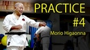 Morio Higaonna's Karate practice 4 PUNCH BLOCK 東恩納盛夫先生の鍛錬その4