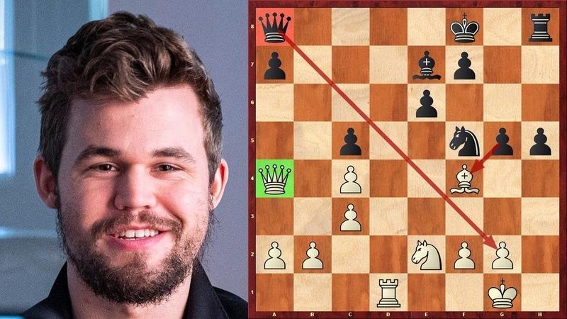 Шахматы Аниш Гири Магнус Карлсен Блестящая МИНИАТЮРА Чемпиона Мира
