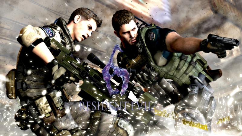 Resident Evil 6 - Chris Redfield and Piers Nivans campaign [ 5 ]
